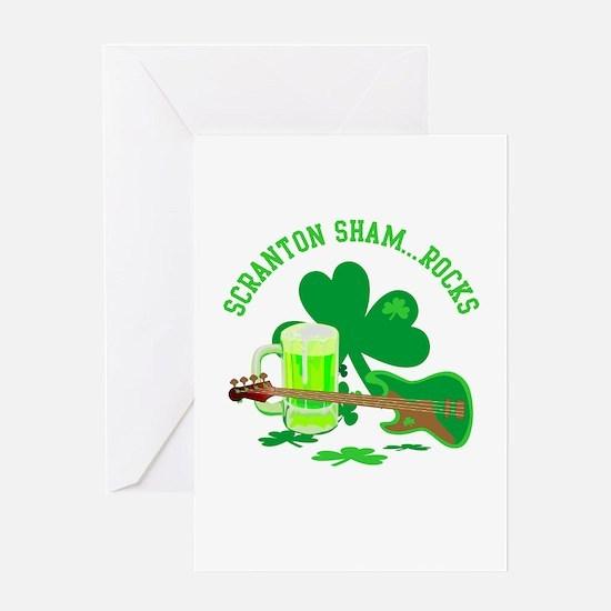 Scranton Sham-Rocks Greeting Card