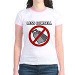 Less Cowbell Jr. Ringer T-Shirt