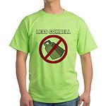 Less Cowbell Green T-Shirt