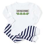 Give Peas A Chance Baby Pajamas