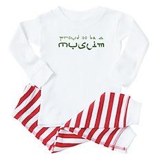 Proud To Be A Muslim Baby Pajamas