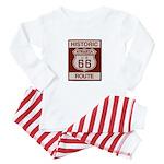 Siberia Route 66 Baby Pajamas