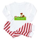 Personalizable Fox in the Woods Baby Pajamas