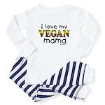 I love my Vegan Mama Baby Pajamas