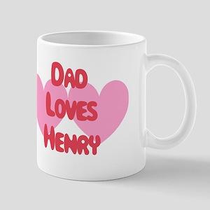 Dad Loves Henry Mug
