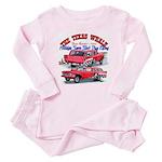 The Texas Whale - 2014 Baby Pajamas