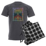 Celtic Tree of Life Men's Charcoal Pajamas