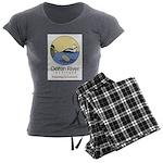 Ocean River Women's Charcoal Pajamas