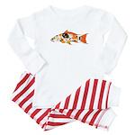 Koi Carp c Baby Pajamas