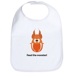 Playnormous Feed the Monster Bib