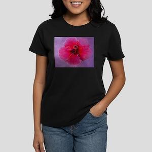 Hibiscus Women's Dark T-Shirt