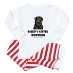 Riley's Little Brother - Custom Baby Pajamas
