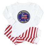 USS NORFOLK Baby Pajamas