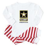 Personalize US Army Baby Pajamas