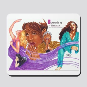 Proverbs 31 collection Mousepad