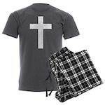 White Cross Men's Charcoal Pajamas