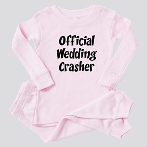 Wedding Crasher Baby Pajamas