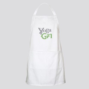 Yoga Girl BBQ Apron