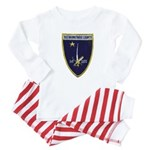 USS BARNSTABLE COUNTY Baby Pajamas