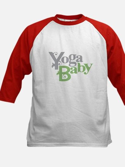 Yoga Baby Kids Baseball Jersey