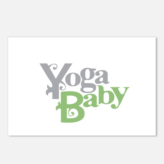 Yoga Baby Postcards (Package of 8)