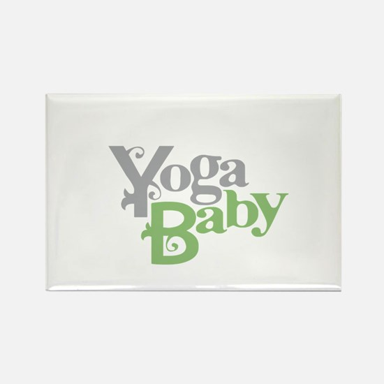 Yoga Baby Rectangle Magnet (100 pack)