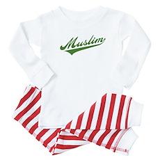 Retro Muslim Baby Pajamas