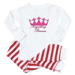 Kayaking Princess - Pink Baby Pajamas