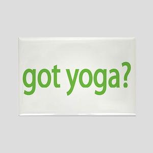 got yoga? Rectangle Magnet