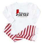 Welcome to Pawnee Baby Pajamas