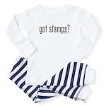 Got Stamps? Baby Pajamas