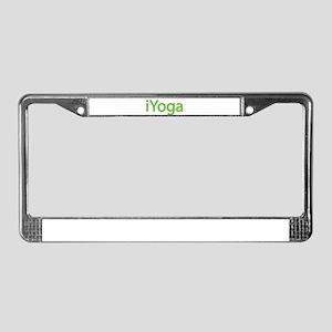 iYoga License Plate Frame