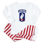 173rd Airborne Bde Baby Pajamas