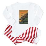 """A New Dawn"" Tree Octopus Baby Pajamas"