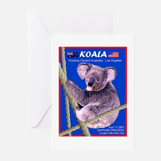 Sapphire KOALA 2007- Greeting Cards (Pk of 10)