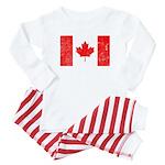 Canadian Flag Baby Pajamas
