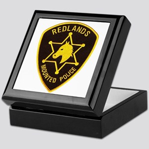 Redlands Mounted Posse Keepsake Box