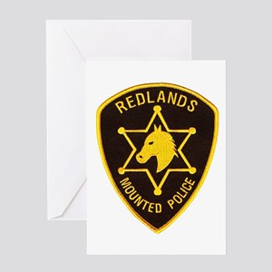 Redlands Mounted Posse Greeting Card