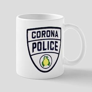 Corona Police Mug
