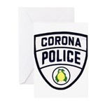 Corona Police Greeting Cards (Pk of 20)