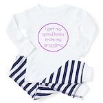 Good Looks from Grandma Baby Pajamas