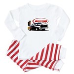 57 Chevy Dragster Baby Pajamas