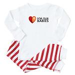 fob-logo-horizblack-10in Baby Pajamas