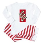 Edelweiss stack Baby Pajamas