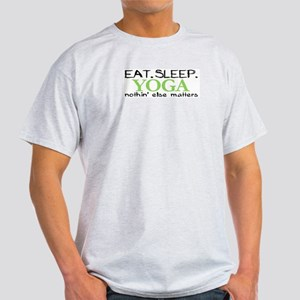 Eat Sleep Yoga Light T-Shirt