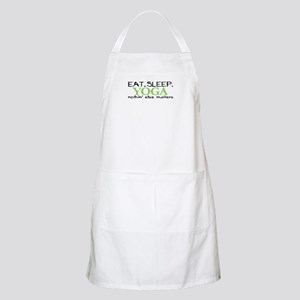 Eat Sleep Yoga BBQ Apron