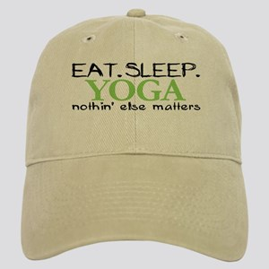 Eat Sleep Yoga Cap