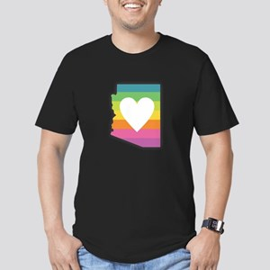 Arizona Rainbow Heart T-Shirt