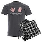 It may save your life Men's Charcoal Pajamas