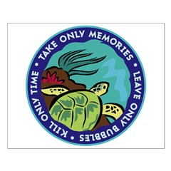 https://i3.cpcache.com/product/353505599/take_only_memories_turtle_posters.jpg?side=Front&height=240&width=240